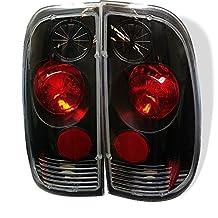 Spyder Ford F150 Styleside 97-03 /F250/350/450/550 Super Duty 99-07 Black Altezza Tail Light