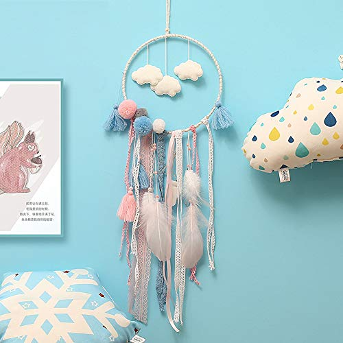 FIGEN Dream Catcher Handmade Traditional Feather Wall Hanging Home Decoration Decor Ornament Craft -