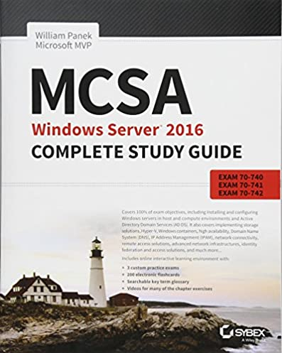 mcsa windows server 2016 complete study guide exam 70 740 exam 70 rh amazon com windows server 2016 complete study guide pdf mcsa windows server 2012 complete study guide pdf
