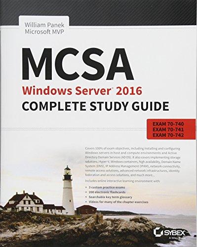 Mcsa Windows Server 2016 Complete Study Guide Exam 70 740
