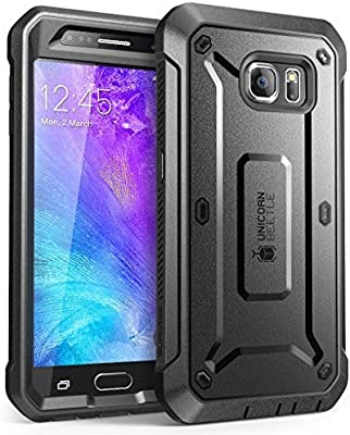 best website 18745 20ba7 Galaxy S6 Case, SUPCASE Full-Body Rugged Holster Case with Built-in ...