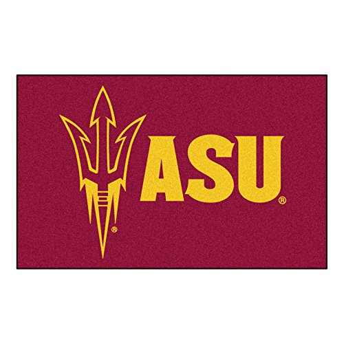 Arizona Tailgater State Rug (NCAA Arizona State University Sun Devils Ulti-Mat Rectangular Area Rug)