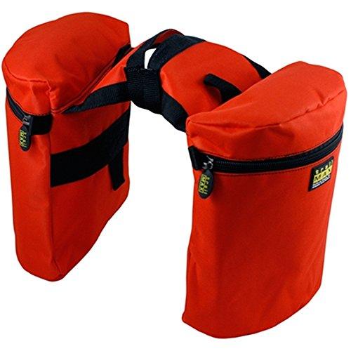 trailMAX Original Doppel Horntasche Satteltasche Western Packtasche orange
