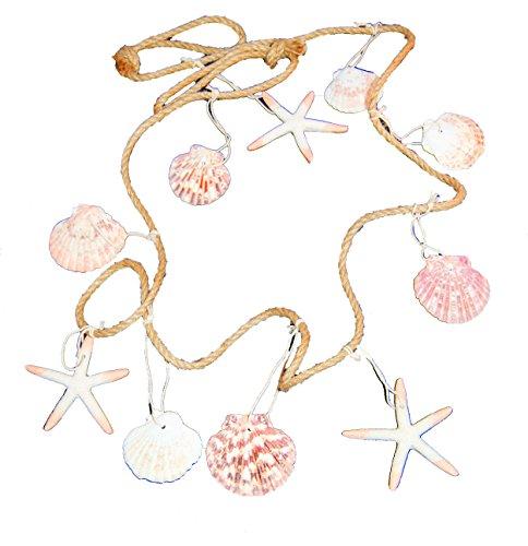 Beach-Garland-with-Starfish-and-Sea-Shells
