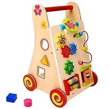 Baby Walker - Carro Andador de Madera: Amazon.es: Juguetes y ...