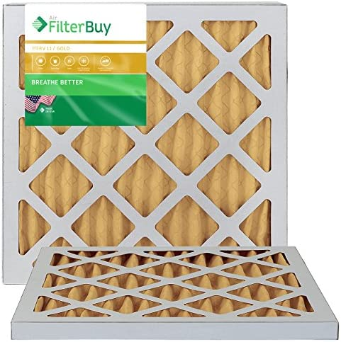 FilterBuy 18x18x1 Pleated Furnace Filters