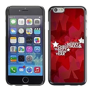 YOYO Slim PC / Aluminium Case Cover Armor Shell Portection //Christmas Holiday Happy New Year 1266 //Apple Iphone 6