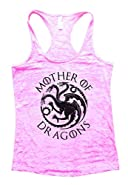 Womens Mother Of Dragons II - Game of Thrones Metallic Tank Top - Funny Threadz