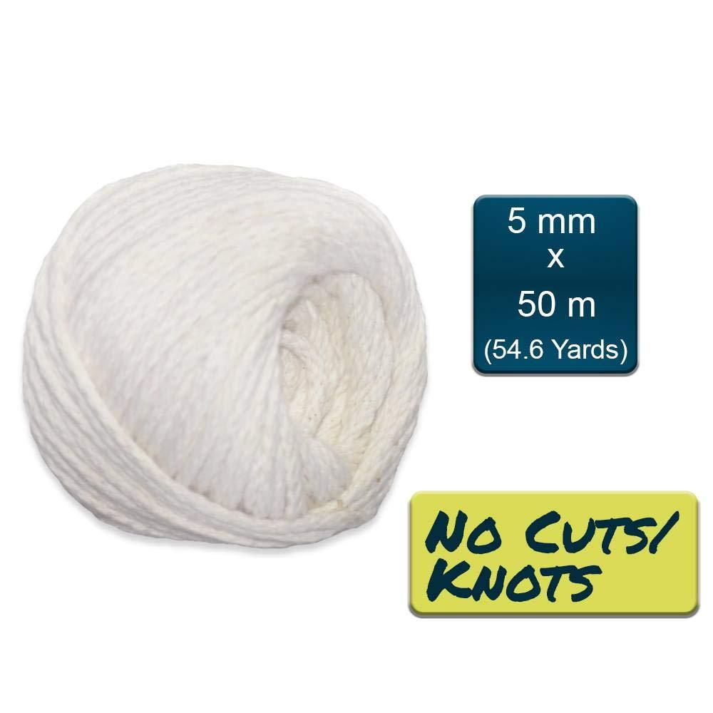 Akordience 4 mm 5 mm de grosor cuerda de macram/é suave para colgar en la pared 4 mm cuerda de macram/é trenzada 3 mm Cord/ón de macram/é para colgar plantas decoraci/ón de bricolaje