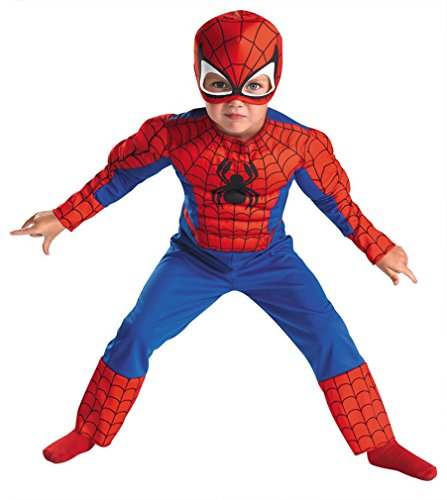 Spider-Man Muscle Costume - Toddler Medium
