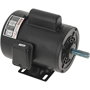 Grizzly Industrial G2527 - Motor 1/3 HP Single-Phase 1725 RPM TEFC 110V/220V