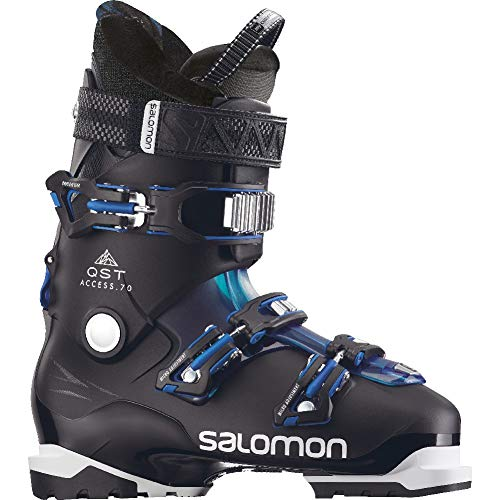 Men's QST Access 70 Ski Boot - 28.5 - BLACK/PETROL/AQUA ()