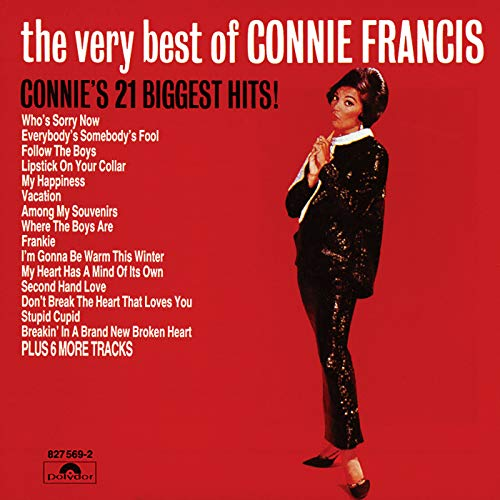 The Very Best Of Connie Francis - Connie's 21 Biggest Hits (Francis Connie Mp3)