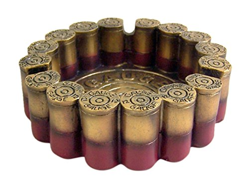 12 Gauge Shotgun Shell Round Ashtray 4.5
