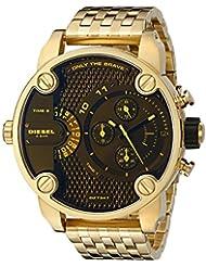 Diesel Mens DZ7347 Little Daddy Analog Display Analog Quartz Gold Watch