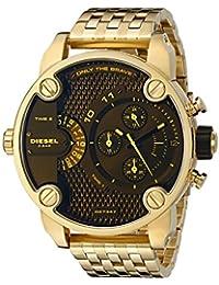 Men's DZ7347 Little Daddy Analog Display Analog Quartz Gold Watch