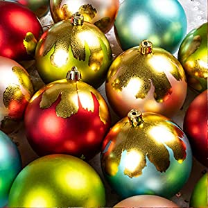 KI Store Christmas Tree Decorations Decorative Ball Ornaments Hanging Decor 106
