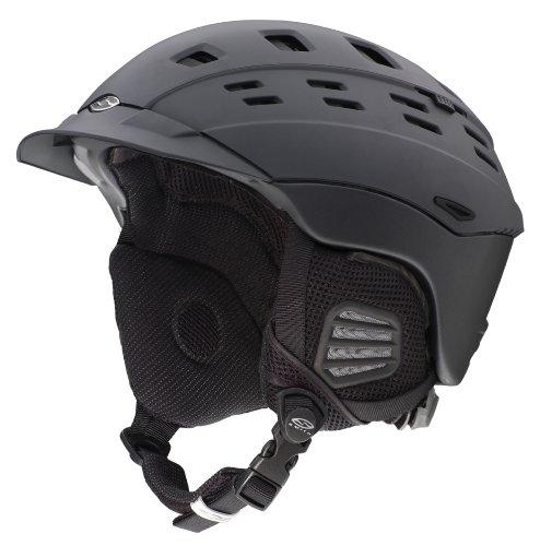Smith Optics Variant Brim Snow Helmets, Matte Graphite, Small, Outdoor Stuffs