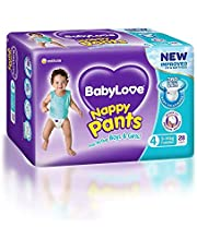BabyLove Toddler Nappy Pants  9-14kg (28 pack x 3, 84 Total)