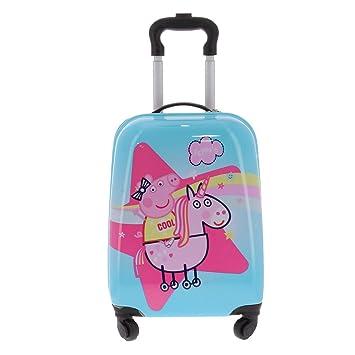 Peppa Pig - Equipaje infantil niños, rosa (Rosa) - 107195UNI