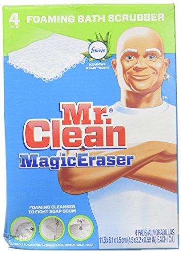 Mr. Clean Magic Eraser Foaming Bath Scrubber -