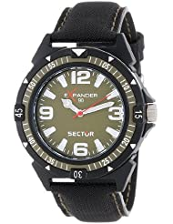 Sector Mens R3251197003 Expander90 Multi-Function Analog Cloth Watch