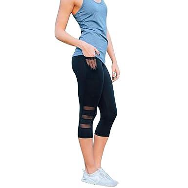 RISTHY Mallas Leggings Mujer 3/4 Pantalones de Yoga ...