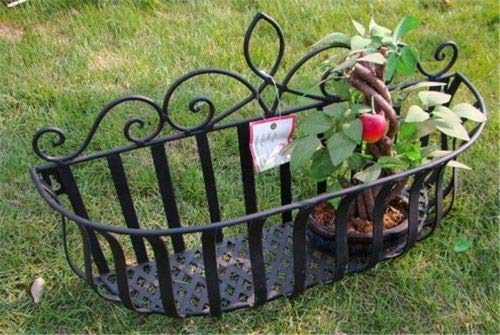 FidgetFidget Hanging Box Basket Garden Flower Potted Tool Wall Mounted Decors