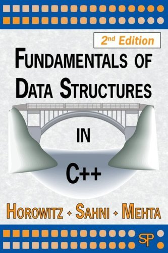 By Ellis Horowitz - Fundamentals of Data Structures in C++: 2nd (second) Edition by Silicon Pr