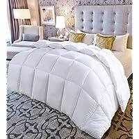 Queen Comforter Duvet Insert White - Quilted Comforter...
