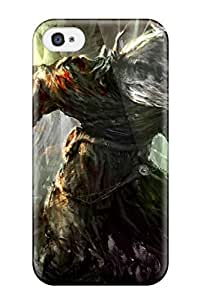 Awesome Design Creature Fantasy Abstract Fantasy Hard Case Cover For Iphone 4/4s