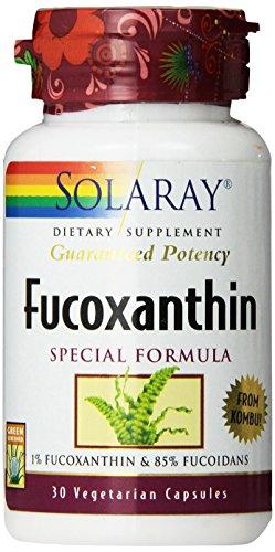 Solaray Fucoxanthin Special Formula Vegetarian Capsules, 400 mg, 30 Count