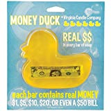 Duck Money Soap: Each Bar Contains a Real US Bill - Up to $50