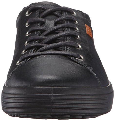 51707black black Baskets Noir 7 Ecco Soft Homme Basses PzHwHq