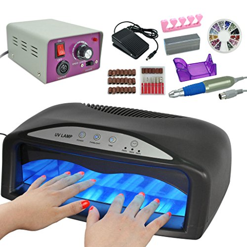 electric manicure set instructions