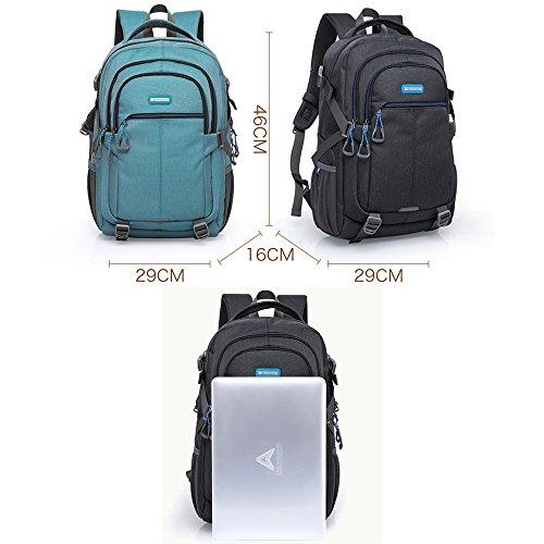 e3c1bbbe3a9d9 ... Damen Herren Business Aktentasche Große Kapazität Notebook Computer Rucksack  Laptop Backpacks mit USB Ladeanschluss Rucksack für