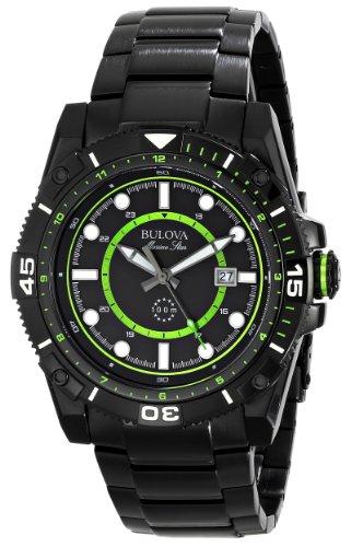 (Bulova Men's 98B178 Marine Star Stainless Steel Watch)