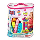 Mega Bloks 80 pc Big Building Bag (Pink)
