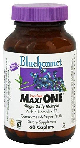 Bluebonnet Maxi One Iron Free Caplets, 60 Count by BlueBonnet -