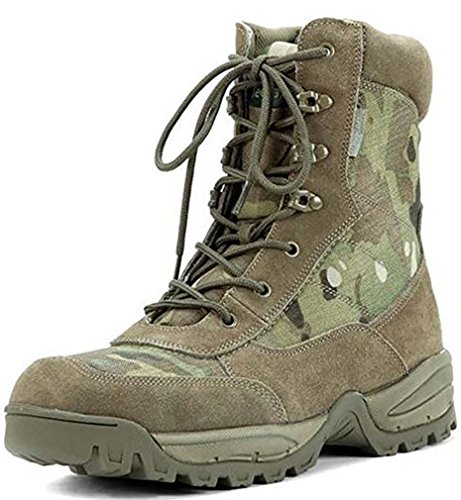 Mil-Tec , Chaussures Hommes Multicam - A-Tacs FG, 10 UK