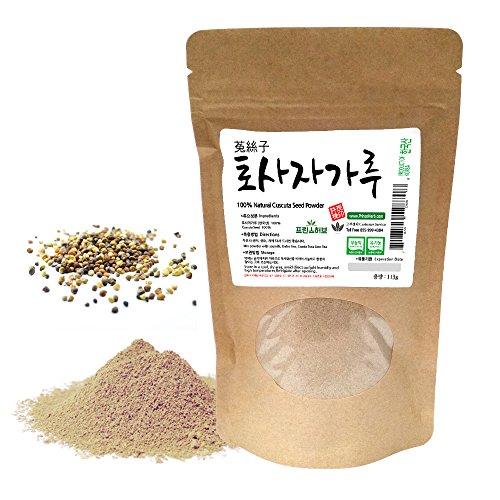 [Medicinal Korean Herbal Powder] 100% Natural Cuscuta Seed Powder / 토사자 가루 (4 oz) ()