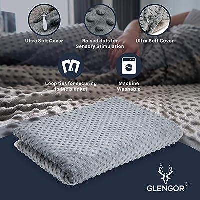 Glengor - Manta y Funda con Peso de 6,8 kg, tamaño Doble, Terapia ...