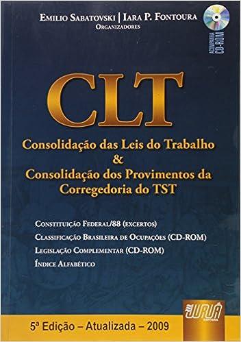 CLT BRASILEIRA ATUALIZADA PDF