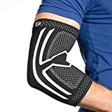 Elbow Brace Compression Sleeve - Instant Support, Protection & Pain Relief for Tendonitis