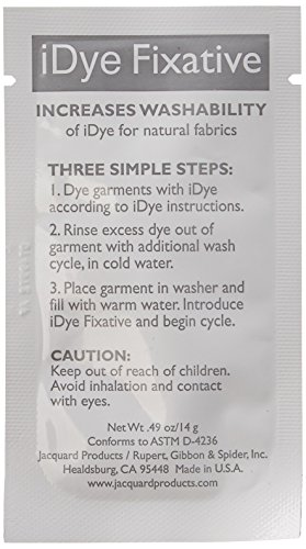 Jacquard iDye Fabric Dye 14 Grams-Fixative
