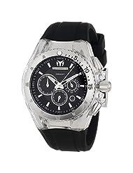 TechnoMarine Unisex 110043 Cruise Original Chronograph Black Dial Watch by TechnoMarine