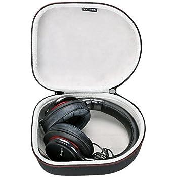 LTGEM Carry Case for Audio-Technica ATH-M50x Headphones Travel Carry Storage Bag