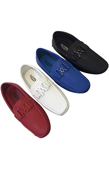 Amazon.com: Estilo Italiano Zapatos Vestido Giovanni Loafer ...