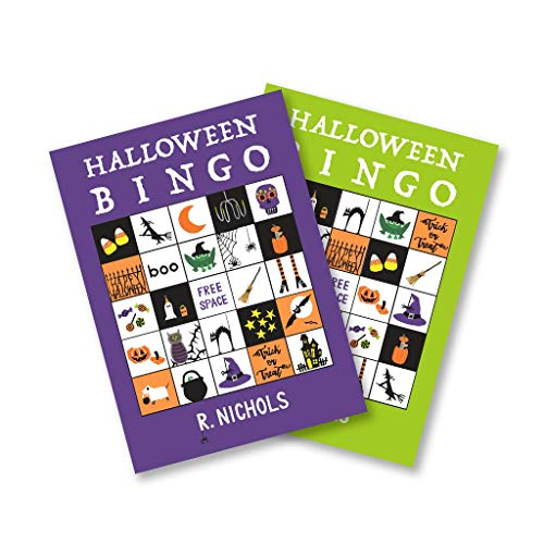R. Nichols Spooky Halloween Bingo Party Game - Set of Eight -