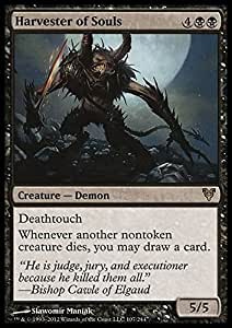 Amazon.com: Magic: The Gathering - Harvester of Souls - Avacyn Restored: Toys & Games